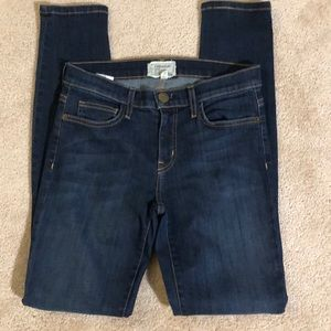Current Elliot Ankle Skinny Jeans, size 27